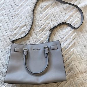 Michael Kors small saffiano crossbody purse bag